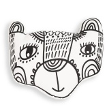 Wee Gallery Throw Pillow - Bear